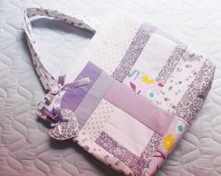 Bolsa de beb� em patchwork