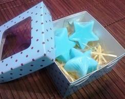 Sabonete Estrelas - Caixinha com 3 unid