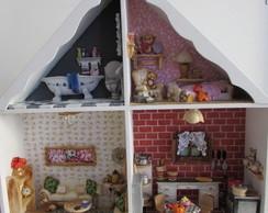 Casa de boneca miniatura- pronta entrega