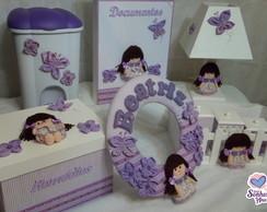 Kit Higiene Boneca de Pano Lil�s