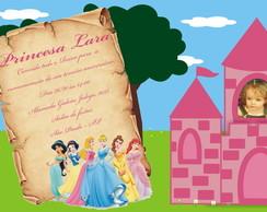CONVITE DIGITAL - Princesas
