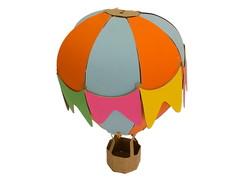 Bal�o 3D decorativo Festa Junina