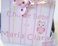 Convite Sach� Ch� de Bebe