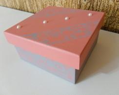 Lembrancinha Caixa MDF 10x10x5