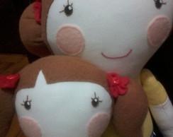 Bonecas de Pano M�e e Filha