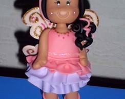 """Topo de Bolo """"Barbie Butterfly"""""""