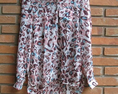 Camisa on�a colorida