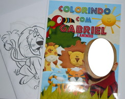 Kit de Colorir Safari 15x21