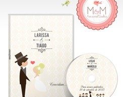 DVD+Capa Personalizados - Save the date