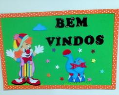 kit decora��o sala de aula circo