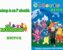 Revista Colorir - tema Backyardigans