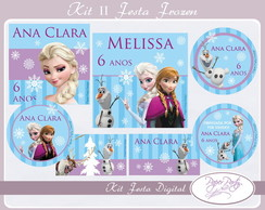 Kit Festa Digital Frozen II