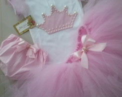 Conjunto tutu Princesa 4 pe�as