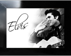 ** QUADRO DECORATIVO - ELVIS VIVE