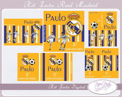Kit Festa Digital Real Madrid