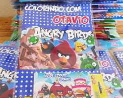 Revistinha colorir Angry Birds