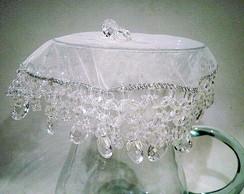 Cobre jarras 25 cms Cristal