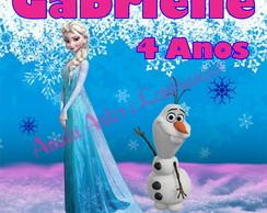 R�TULO BALDE DE PIPOCA ELZA E OLAF