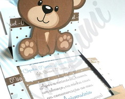 Convite Urso