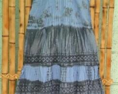 Vestido longo indiano M