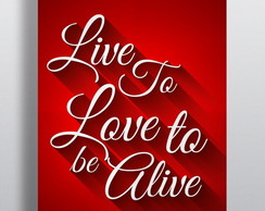 Poster Live to Love
