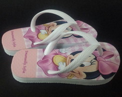 Chinelo Infantil Minnie Baby