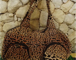 Bolsa Animal Print On�a