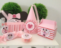 KIT FESTA MINNIE COR DE ROSA