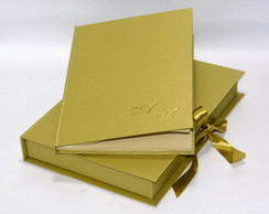 Livro de Ouro com Caixa