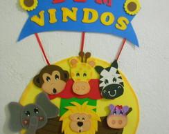 PLACA DE BEM VINDOS ARCA DE NO�