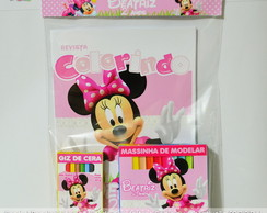 Kit Colorir com massinha modelar Minnie