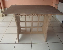 Mesa para festa arabescos