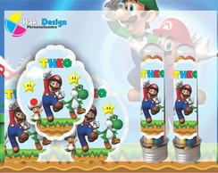 R�tulo tubete Super Mario