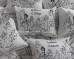 Almofadas para colorir Princesas Disney