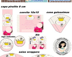 Kit festa digital Princesa proven�al 2