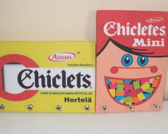 Porta Chaves Chicletes Vintage