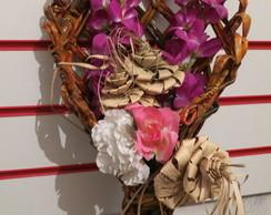 arranjo de flores de pendurar