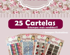 Kit Pronto 25 Cartelas