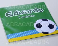 Convite Futebol 3D