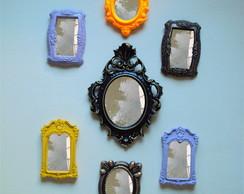 Espelhos Conjunto Decorativos 2 (07 p�s)