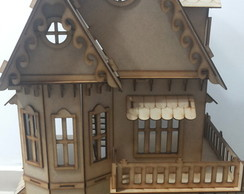 Casa Casinha mdf - kit 25 m�veis gratis