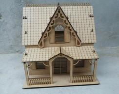 Casa Casinha mdf - kit 21 m�veis gratis