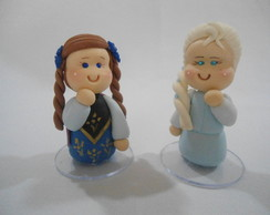 Lembrancinhas Frozen - Ana e Elsa