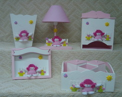 Kit Boneca de Pano 8 pe�as