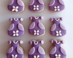 Biscoitos amanteigados Princesa Sofia