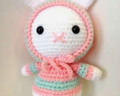 Bunny Gurumi Pink and Mint