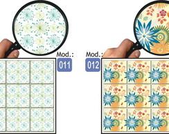 Adesivo Azulejo Ladrilhos 36 unid. 15x15