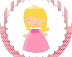 R�tulo adesivo Princesa