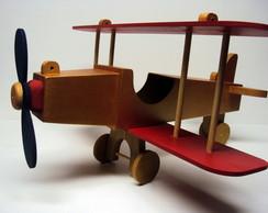 Avi�o enfeite centro de mesa 50 cm
