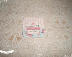 Adesivo Passarinho { 4x4 cm